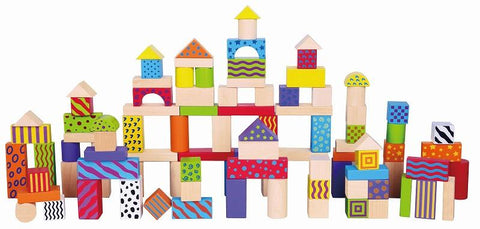 Viga - 100 pcs Colorful Block Set