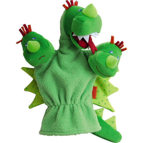 Haba - Glove Puppet 3 Heads Dragon