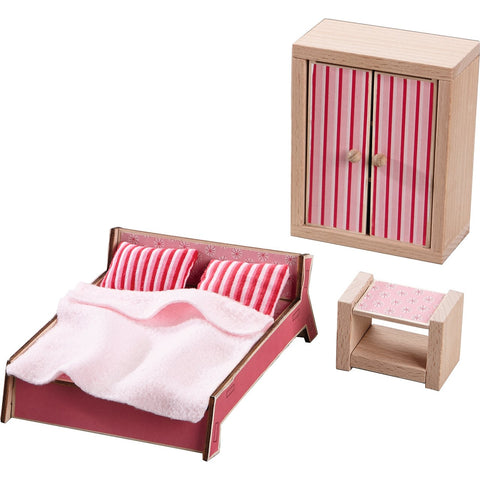 Haba - Dollhouse Furniture Master Bedroom (Little Friends )