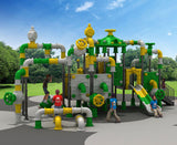 Kidicare Outdoor Playground - Mario Pipeline