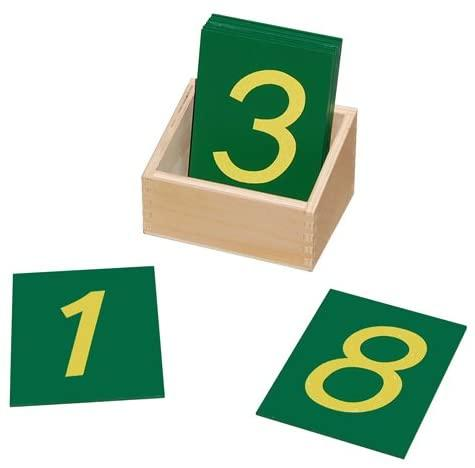 Montessori - Sandpaper Numbers