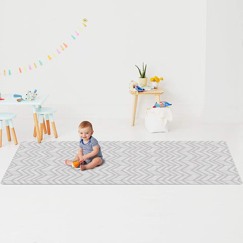 SkipHop - Reversible Playmat Little Travelers (86 x 52'')