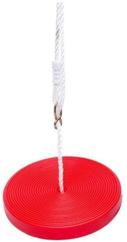 Kidicare - Plastic Disk Swing - Red