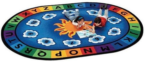 Kidicare Carpet For Kids - Carpet Sunny day circle