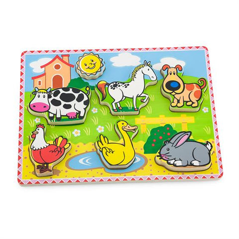 Viga - Farm Animal ExtraThick Puzzle