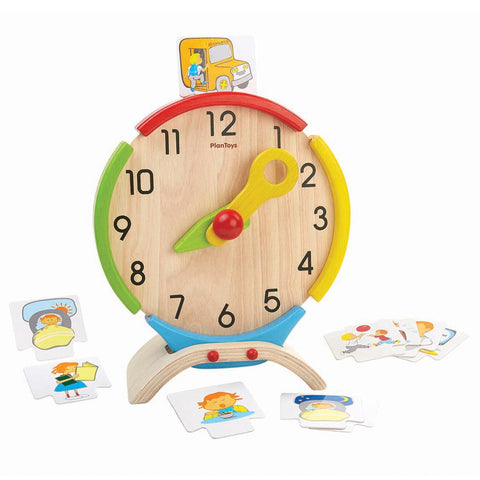 Plan Toys - Activity Clock