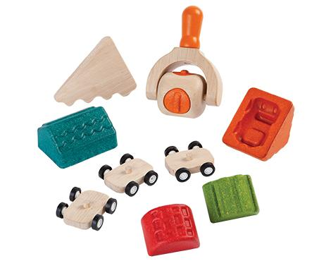 Plan Toys - Build-A-Town Dough Set