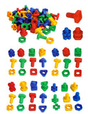 Kidicare - Blocks Set - Nuts & Bolts