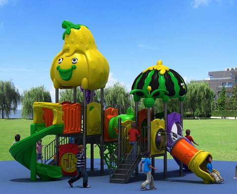 Kidicare Outdoor Playground - Fruits Kingdom 8059A