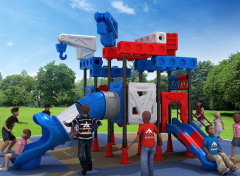 Kidicare Outdoor Playground - Dream Architects