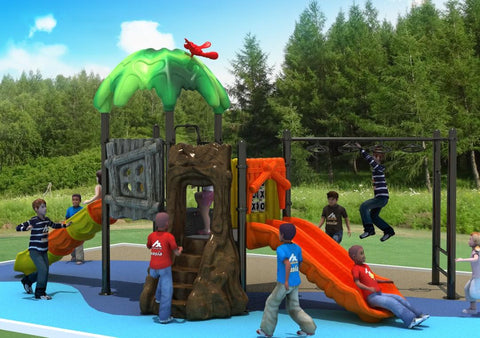 Kidicare Outdoor Playground - Primeval Forest