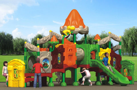 Kidicare Outdoor Playground - Fairy Tale Castle