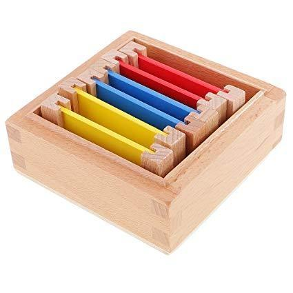 Montessori - Wooden Color Tablets (Box 1)