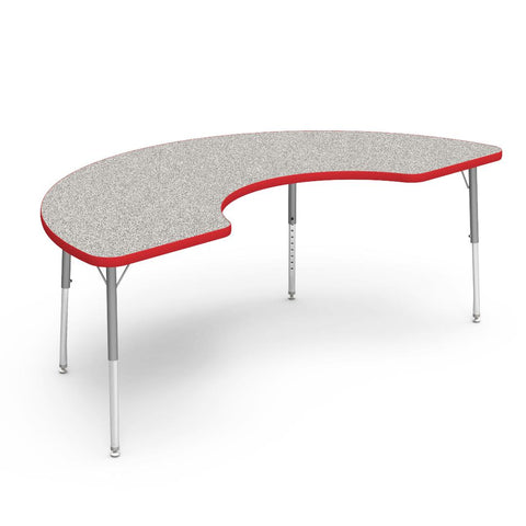 Kidicare - Half Moon Table (36 x 72'') 4000 Series