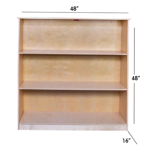"Kidicare - Shelf 3 spaces (48 x 48 x 16"")"