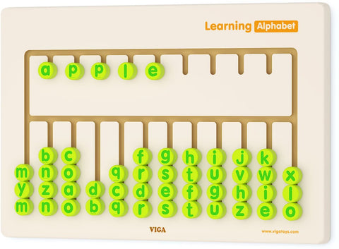 Viga - Wall Toy Learning Alphabet