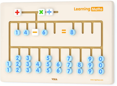 Viga - Wall Toy Learning Maths