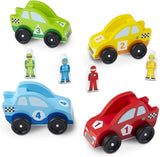 Melissa & Doug - Race Car Vehicle Set