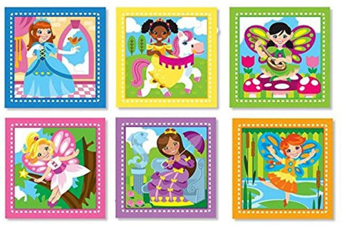 Melissa & Doug - Princesses & Fairies Cube Puzzle