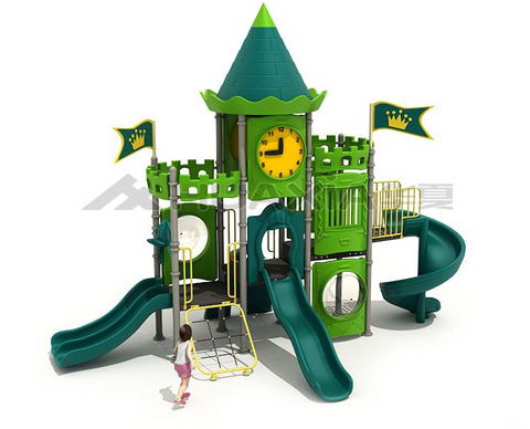 Copy of Kidicare Outdoor Playground - Lion King Castle 7099
