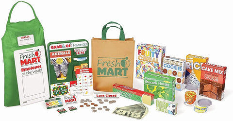 Melissa & Doug - Collection de compagnons d'épicerie Fresh Mart