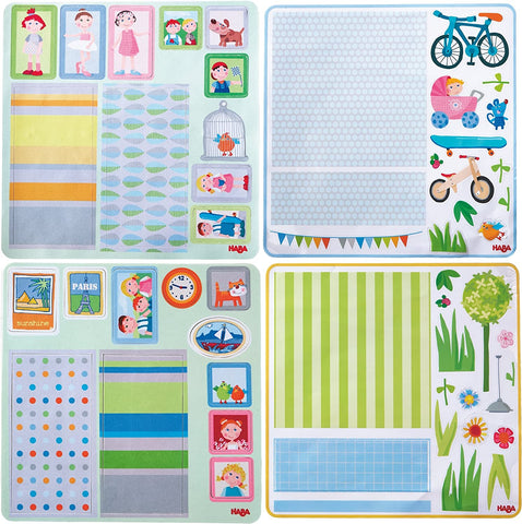 Haba - Dollhouse Decor Decals (Little Friends)