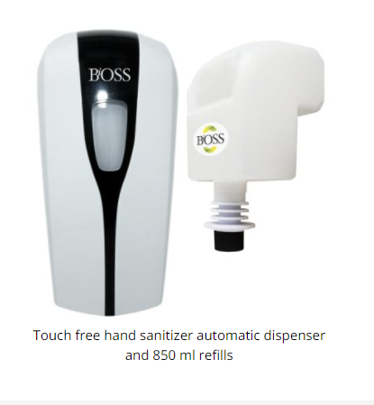 Bioss - Touch Free Hand Sanitizer (automatic dispenser)