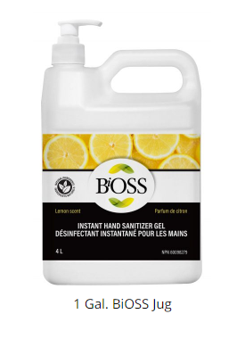 Bioss - Contenant désinfectant de 1 gallon