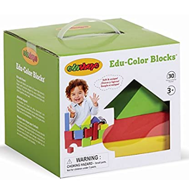 Edushape - Educolor Blocks