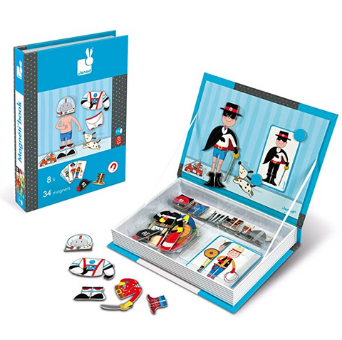 Janod - Magnetibook for Boys