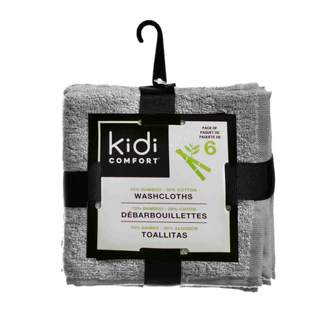 Kidicare - Bamboo Washcloth (6 Pack)