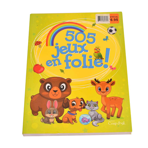 Kidicare - Activity Book ''505 Games'' (French edition only)