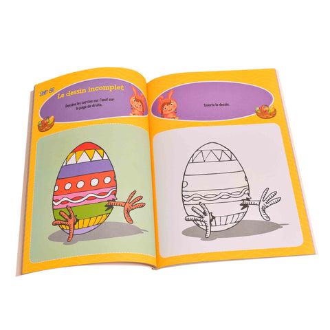Kidicare - Stickers Book (French edition only)