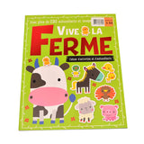 Kidicare - Activity Book '' Vive la Ferme'' (French Edition only)