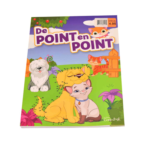 Kidicare - Book ''De point en point'' - French edition only