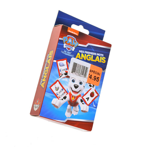 Kidicare - Cards Game ''Mes premiers mots anglais'' (French Edition only)