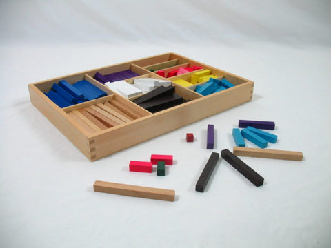 Montessori Colored Counting Bars