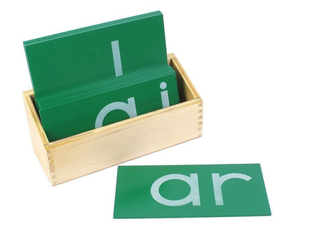 Montessori - Small Sandpaper Double Letters