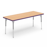 Kidicare - Table rectangulaire (24 x 60 '') 4000 Series