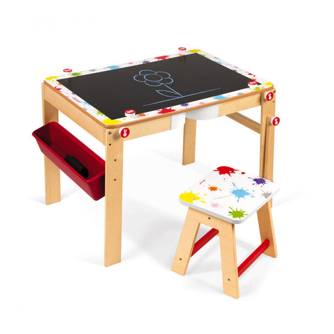 Janod Splash 2 in 1 Convertible Desk