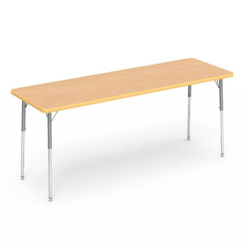Kidicare - Rectangular Table (24 x 72'') 4000 Series