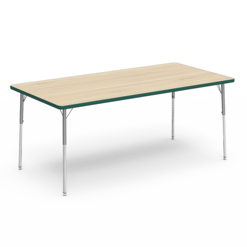 "Kidicare - Rectangular table 36"" x 72"""