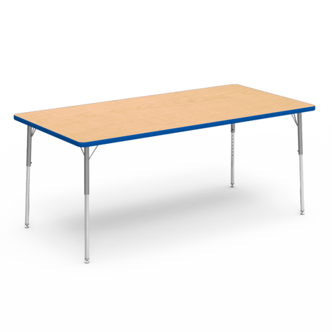 "Kidicare - Rectangular Table (30 x 72"") 4000 Series"