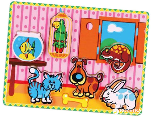 Viga - Pets ExtraThick Puzzle