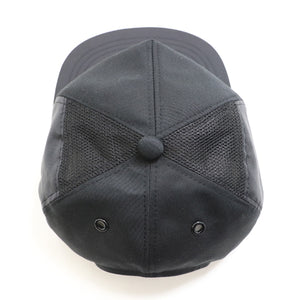 THE MAN TOP MESH CAP -ALL BLACK-