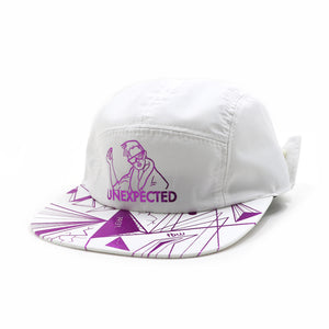 UNEX METALLIC JET CAP -WHITE-