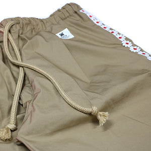 CITY FLOWER LINE PANTS -L.BEIGE-
