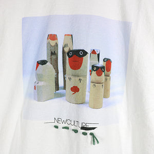 CRAFT PHOTO GRAPHICS TEE -WOOD BIRDS-