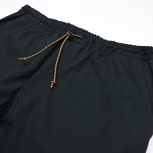 MONPE COTTON PANTS -BLACK-