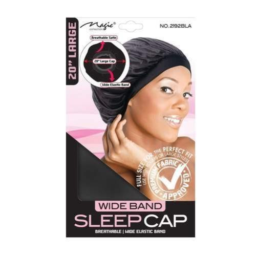 20 Inch wide Band Sleep Cap Large size